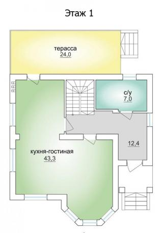 """дом в КП """"Берёзовый"""""""