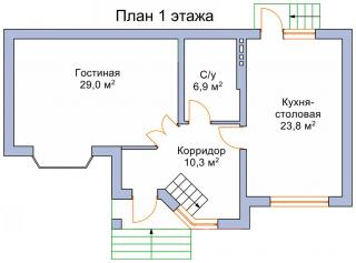 """дом в КП """"ТРАВА"""""""