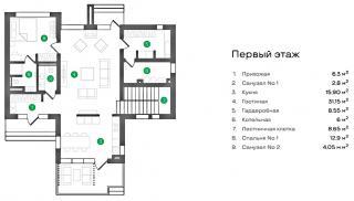 """дом в КП """"Елизаветинский"""""""