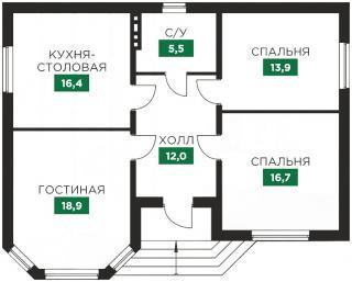 """дом в КП """"Знатный Двор"""""""